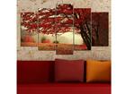 Viisiosainen seinätaulu TREE 100x60 cm ED-116608