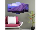 Viisiosainen seinätaulu TREE II, 100x60 cm ED-116611