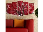 Viisiosainen seinätauluTREE III, 100x60 cm ED-116613