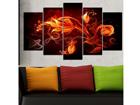 Viisiosainen seinätaulu MODERN 100x60 cm ED-116627