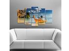 Viisiosainen seinätaulu BOAT I, 100x60 cm ED-116695