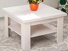 Sohvapöytä, mänty 74x74 cm EC-116857