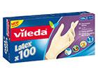 Kertakäyttökäyttökäsine VILEDA MULTI LATEX 100 kpl L SY-117083