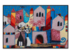 Matto LITTLE TOWN 50x75 cm A5-117136