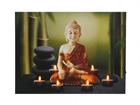 LED taulu BUDDHA & TEALIGHTS 30x40 cm ED-117192