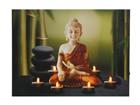 LED taulu BUDDHA & TEALIGHTS 50x70 cm ED-117193