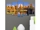 Viisiosainen seinätaulu SEASCAPE 2, 100x60 cm