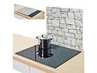 Räiskesuoja/liesisuoja STONE 56x50 cm GB-117432