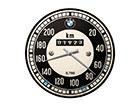 RETRO seinäkello BMW NOPEUSMITTARI SG-118300