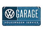 Retro metallijuliste VW GARAGE 10x20 cm SG-118406
