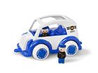 Poliisiauto ja minihahmot VIKING JUMBO KE-118945