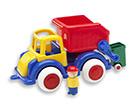 Roska-auto ja minihahmo VIKING JUMBO KE-118949