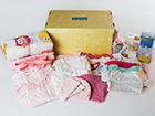 0-6 kuukauden ikäisen tyttövauvan ja äidin laatikko BX-120114