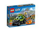 LEGO CITY tulivuorenpurkauksen tutkimusajoneuvo RO-121505