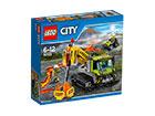 LEGO CITY tulivuorenpurkauksen pelaustusauto RO-121506