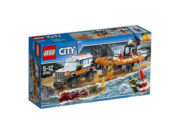 Nelivetoinen pelastusauto LEGO CITY RO-121517
