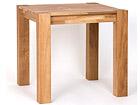 Ruokapöytä, tammi 80x80 cm RU-121912