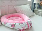 Vauvapesä PINK FLOWER MD-123181
