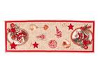 Gobeliinikankainen joululiina SANTA CLAUS 37x100 cm TG-123461