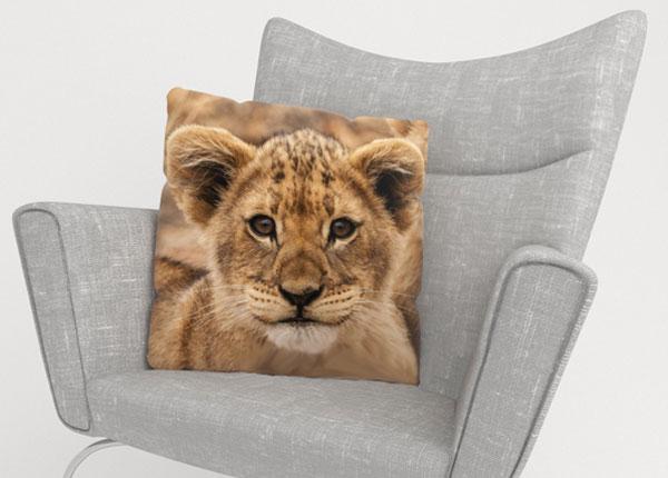 Koristetyynyliina CUTE LION