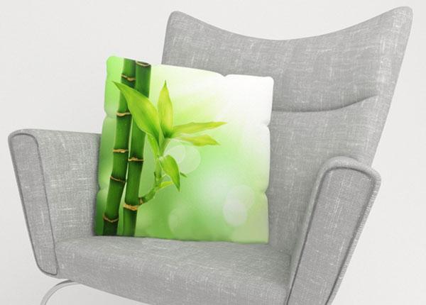 Koristetyynyliina GREEN BAMBOO 40x40 cm ED-123869