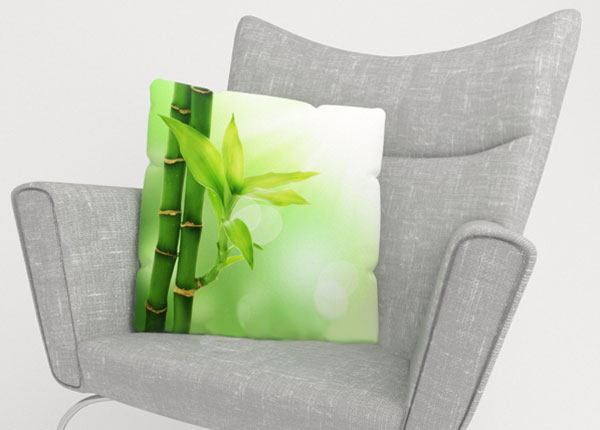 Koristetyynyliina GREEN BAMBOO 50x50 cm ED-123872