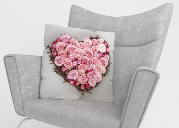 Koristetyynyliina HEART OF LOVE 40x40 cm ED-123877