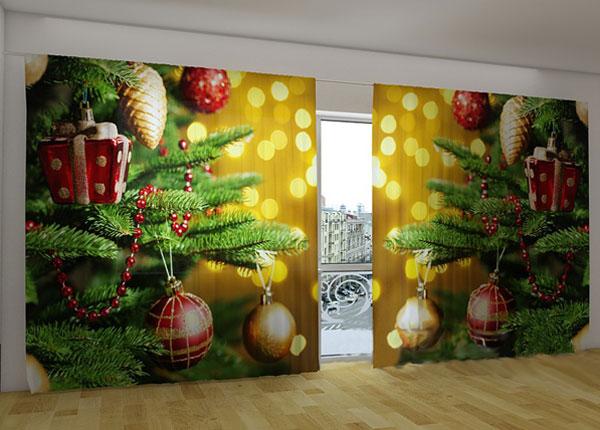 Puolipimentävä verho CHRISTMAS TOYS 360x230 cm ED-124667