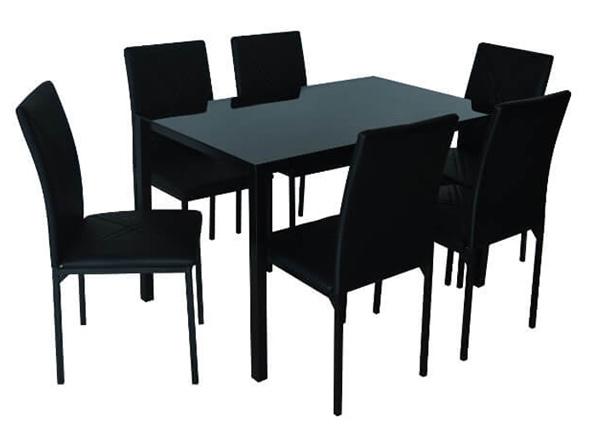 Ruokapöytä + 6 tuolia TENERIFE AQ-124886