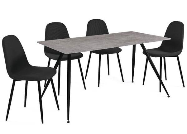 Ruokapöytä + 4 tuolia LA COMERA AQ-124887