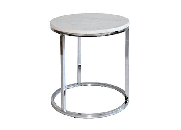 Marmori sohvapöytä ACCENT CHROME Ø50 cm A5-125353