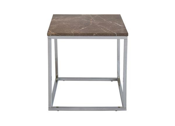 Marmori sohvapöytä ACCENT-2 CHROME 50x50 cm A5-125371