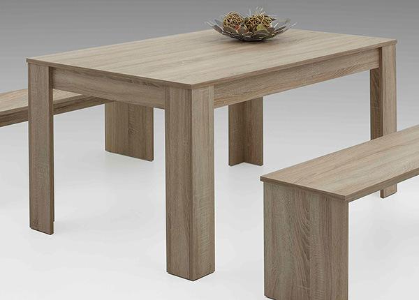 Ruokapöytä PETRA 90x140 cm