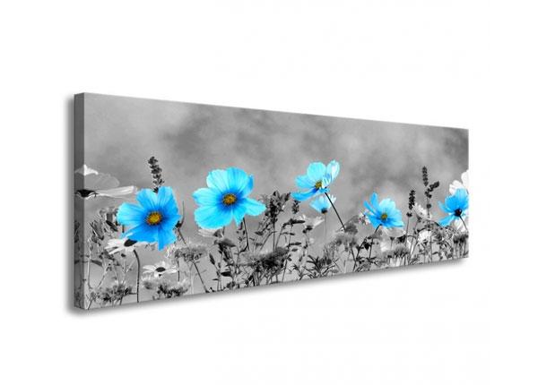 Seinätaulu BLUE FLOWERS 120x40 cm ED-126288