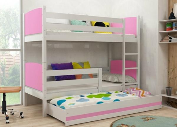 Lasten sänkyryhmä 3-le 80x160 cm TF-126698