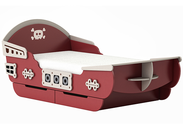 Lasten sänky CAPTAIN 90x200 cm CM-126896