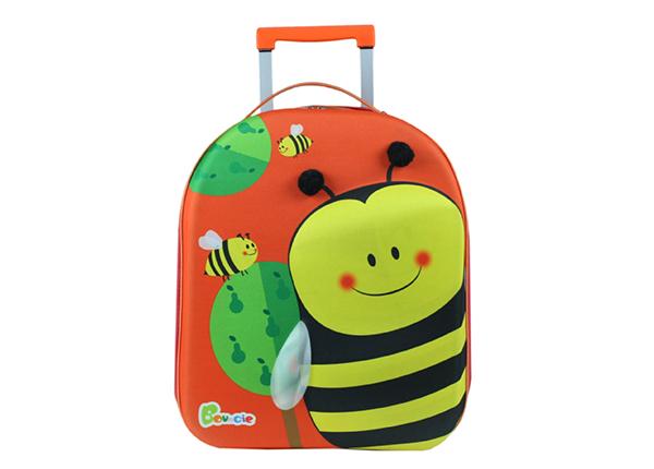 Lasten vedettävä matkalaukku MEHILÄINEN KE-126939