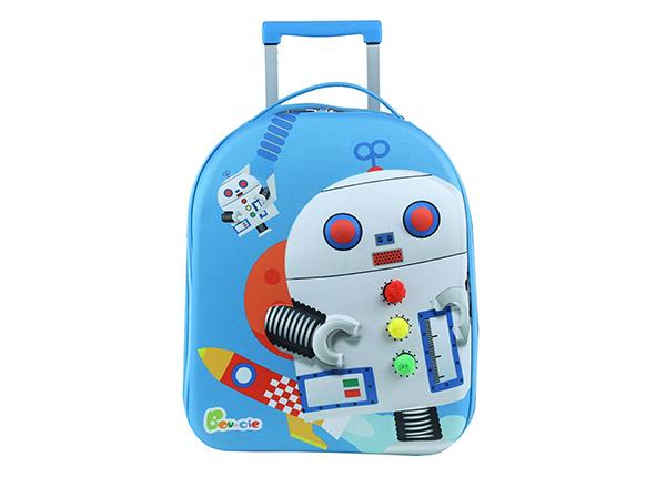 Lasten vedettävä matkalaukku ROBOT KE-126940
