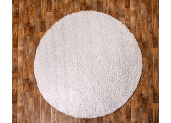 Pitkäkarvainen matto Ø140 cm AA-127042
