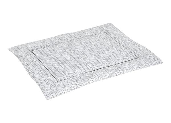 Leikkimatto WHITE LEAVES 80x100 cm LC-127327