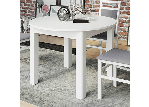 Jatkettava ruokapöytä 110x110-160 cm TF-127409