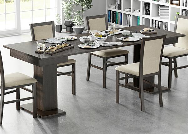 Jatkettava ruokapöytä 85x85-220 cm TF-127462