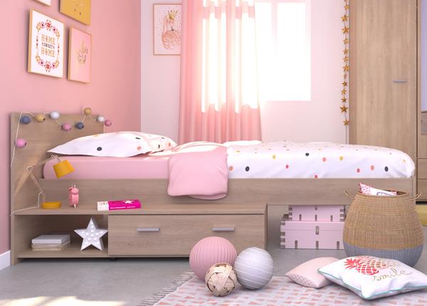 Sänky vuodevaatelaatikolla GALAXY 90x200 cm MA-127564