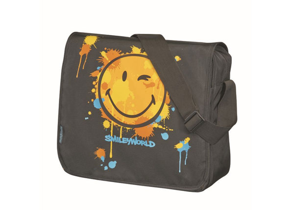 Olkalaukku HERLITZ BE BAG SmileyWorld Limited BB-127766