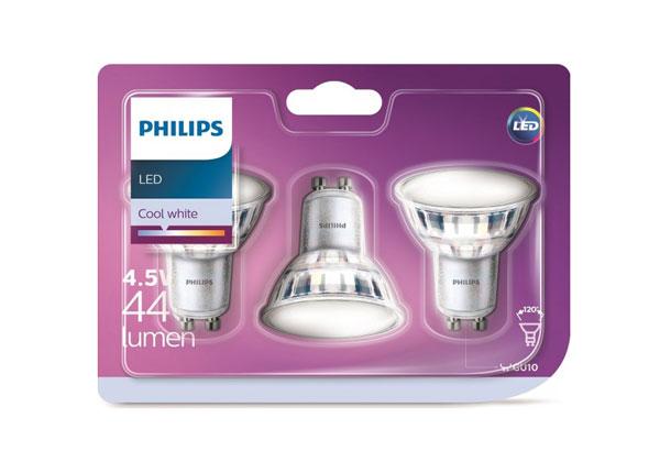 LED lamput 4,5 W, 3 kpl EW-127905