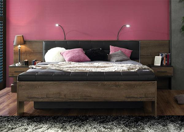 Sänky 160x200 cm + 2 yöpöytää TF-127938