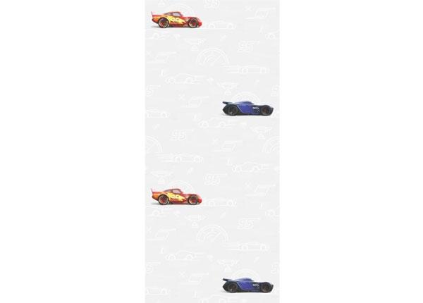 Fleecetapetti CARS 3 SILHOUETTE, WHITE 53x1000 cm ED-128081