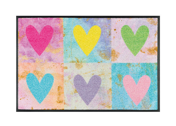 Matto CANDY HEARTS 50x75 cm A5-128120