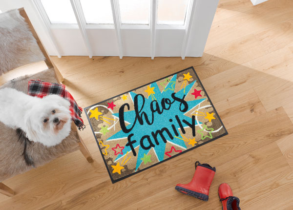 Matto CHAOS FAMILY 50x75 cm A5-128121