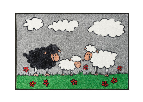 Matto SHEEP FAMILY 50x75 cm A5-128134